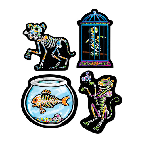 Day Of The Dead Pet Cutouts image