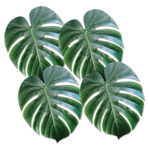 Tropical Palm Leaves image