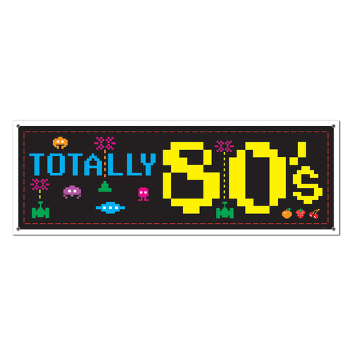 80's Sign Banner image