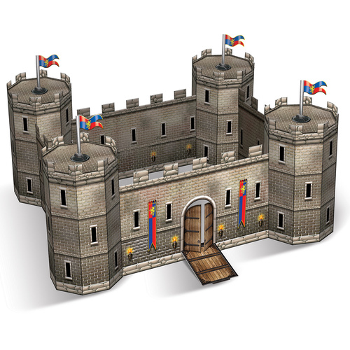 3-D Castle Centerpiece image