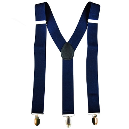 Stretch Braces/Suspenders - Navy Blue image
