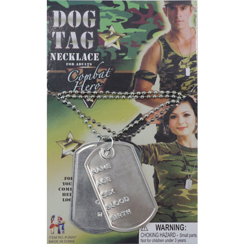 Dog Tag - Single with Details image
