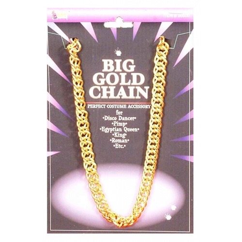 Big Gold Pimp Chain - 100cm image
