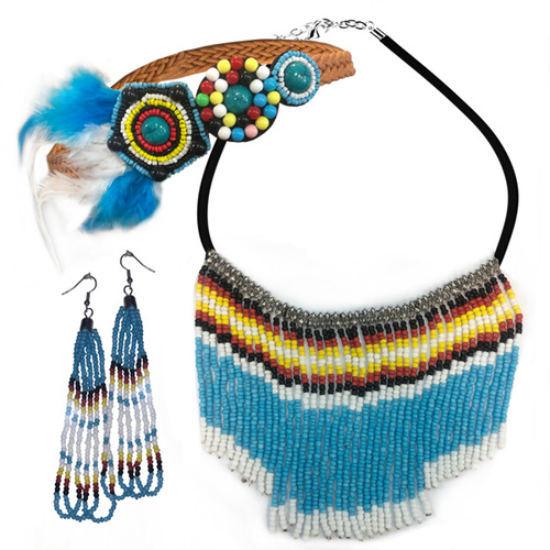 Deluxe Native Indian Jewellery Kit image
