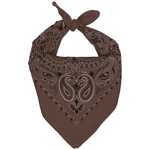 Cowboy Bandanna - Brown