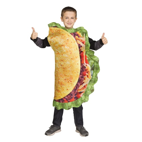 Taco Child Costume- One Size Fits All image