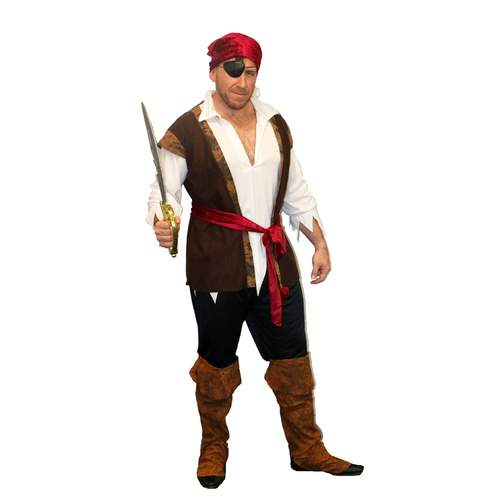 Pirate Man - Adult image