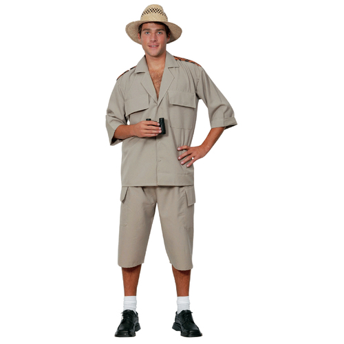 Safari Suit - Adult Costume image