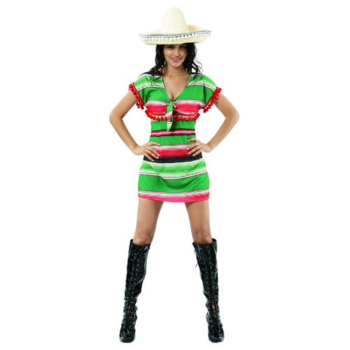 Mexican Dress - Adult - Medium image