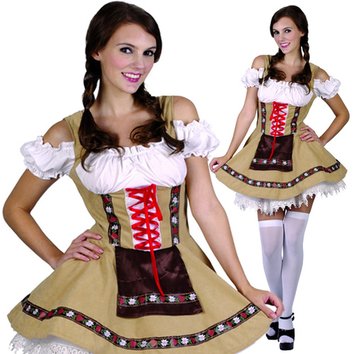 Alpine Beer Girl - Adult image