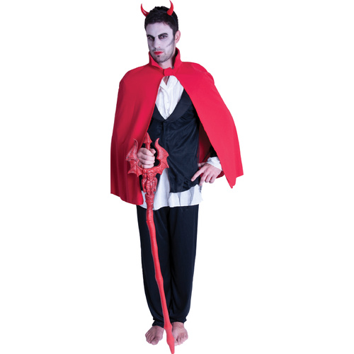 Short Devil Cape - Red image