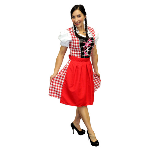 Oktoberfest Beer Maiden Red - Small/Med image