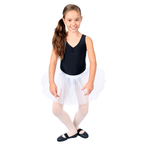 Child Tulle Tutu - White image