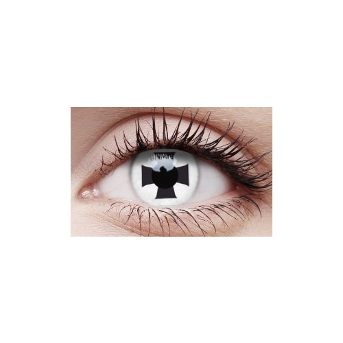 Crazy Lens Contacts - Black Cross image