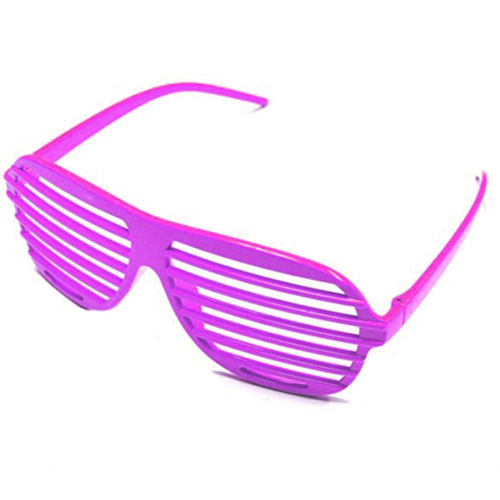 80s Slot Glasses - Neon Pink image