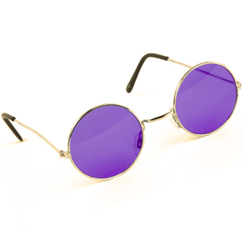 Lennon Glasses - Purple Tint image