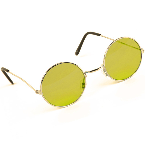 Lennon Glasses - Yellow Tint image