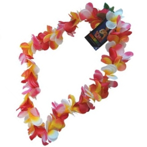Frangipani Lei - Multi Coloured image