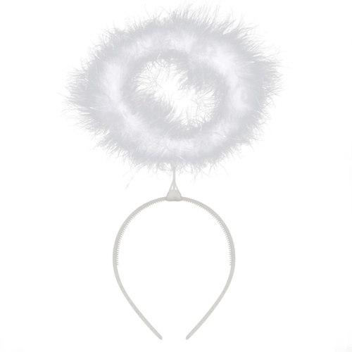 Feather Halo - White image