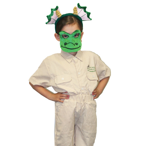 Animal Headband & Mask Set - Dragon image