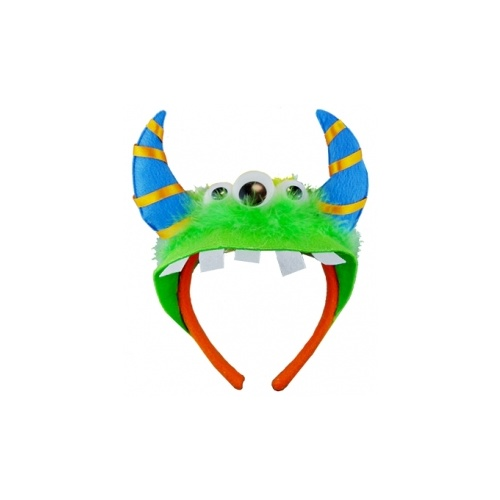 Monster Headband - Green image