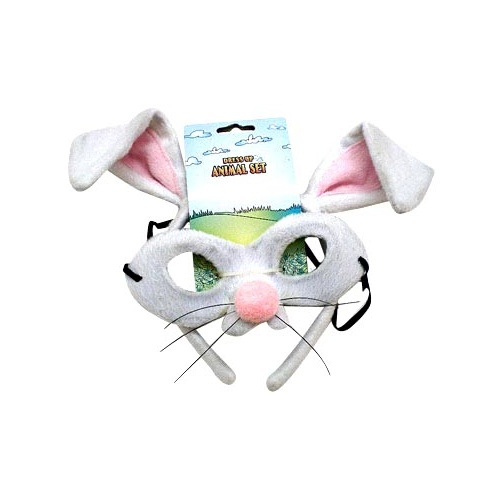 Animal Headband & Mask Set - Rabbit image