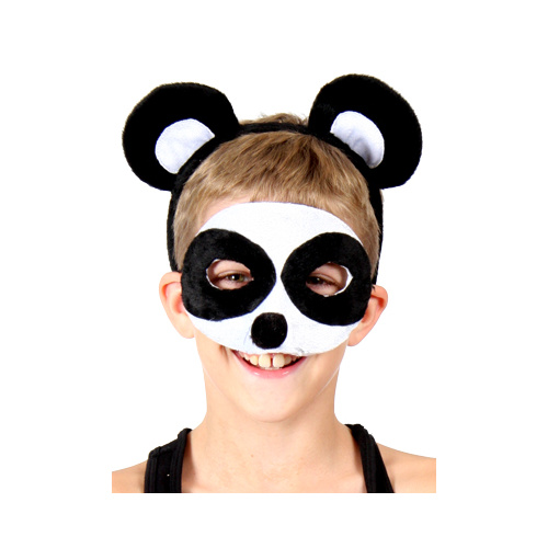 Animal Headband & Mask Set - Panda image