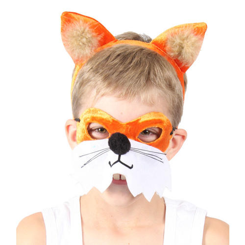 Animal Headband & Mask Set - Fox image