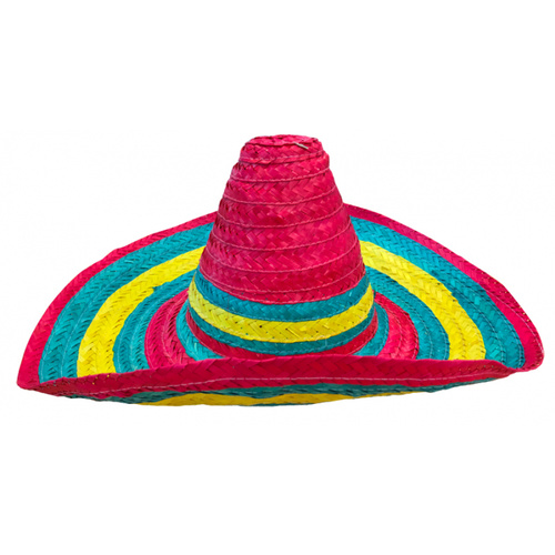 Festive Mexican Sombrero - Multi Colour image
