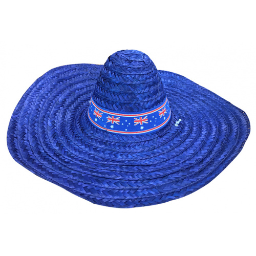 Mexican Sombrero - Aussie Blue image
