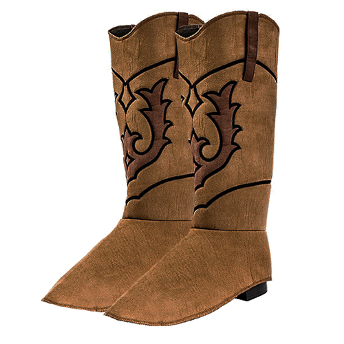 Suede Boot Covers - Cowboys image