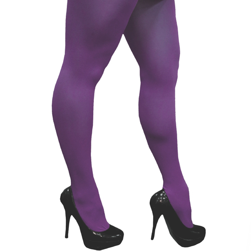 Full Length Tights - Purple image