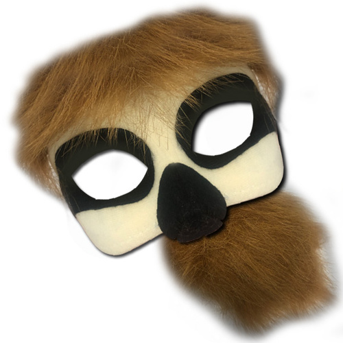 Deluxe Animal Mask Tail Set - Sloth image