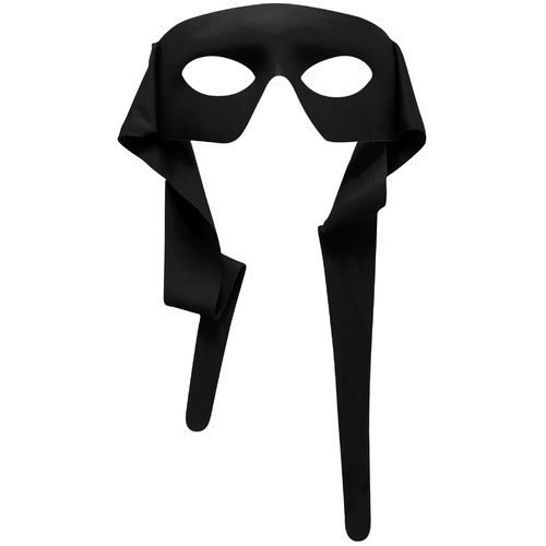 Masked Man w/Ties - Black image