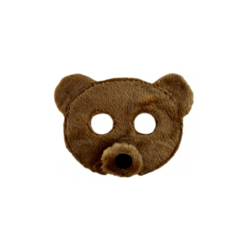 Plush Animal Mask - Bear image
