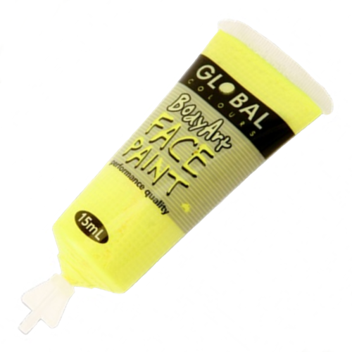 Body Art 15ml Tube - FLUORO YELLOW image