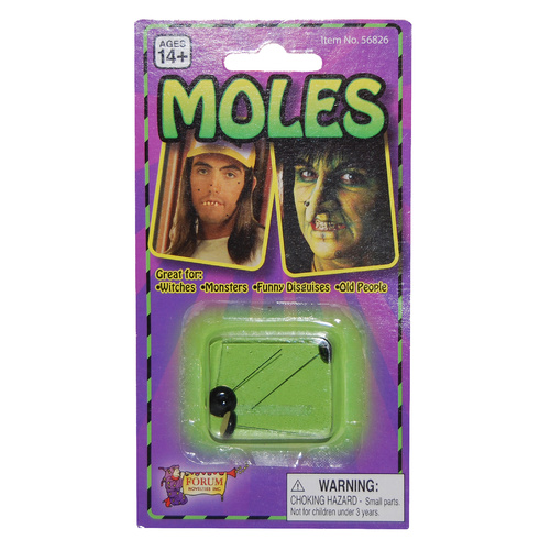 Moles - Stick on - Pack 3 image