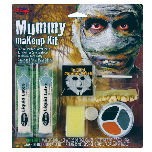 Character Make Up Kit - Mummy image