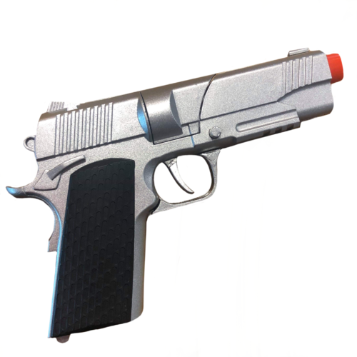Diecast Automatic Pistol - Adult image