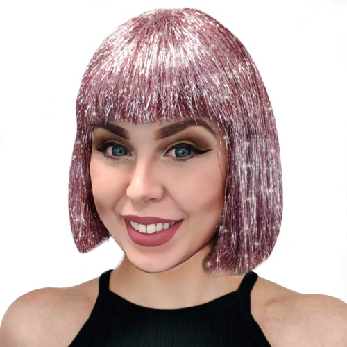 Sparkle Nation Wig - Pink image